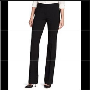 Theory wool blended black dress pants